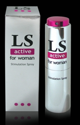 LOVESPRAY ACTIVE (женский)18мл