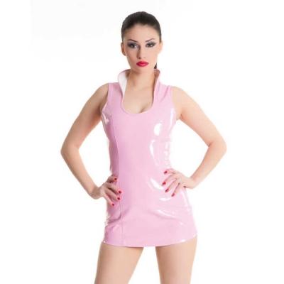 Платье розовое-М